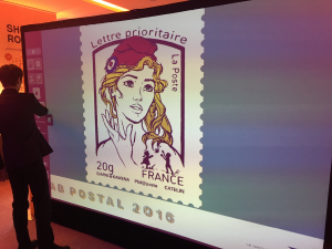 Digital Graffiti : l'animation innovante du Lab Postal