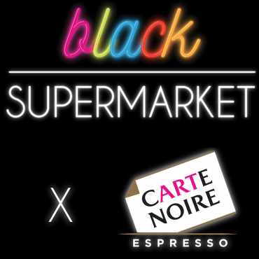 Digital Graffiti au Black Supermarket !