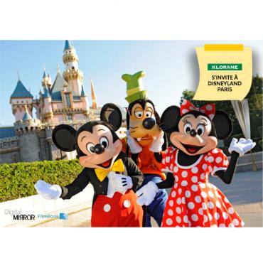 Filmbook et Digital Mirror pour la soirée Klorane à Disneyland