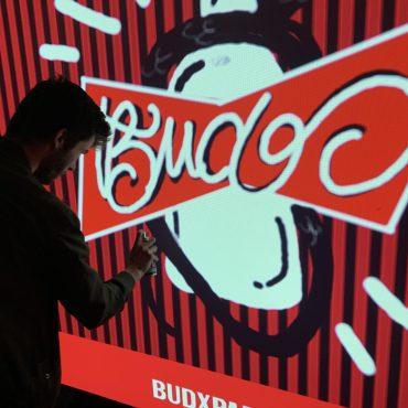 Notre Digital Graffiti à l'événement BUDX